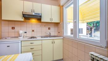Small apartment with terrace for three, bedroom, WiFi, parking, 8