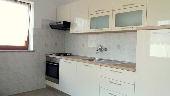 One-bedroom apartment for 3 persons, WiFi, parking, garden, 3