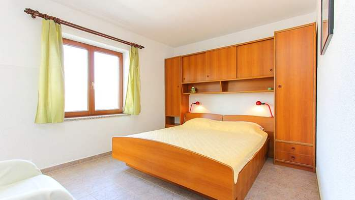 Studio apartment for two with private balcony, 1