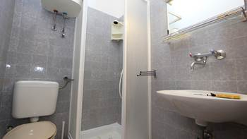 Room with bathroom in the attic for two persons, SAT-TV, balcony, 4