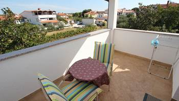 Room with bathroom in the attic for two persons, SAT-TV, balcony, 6