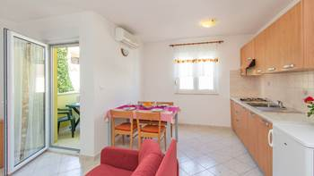 Apartment with one bedroom for 4 persons, WiFi, air conditioning, 5
