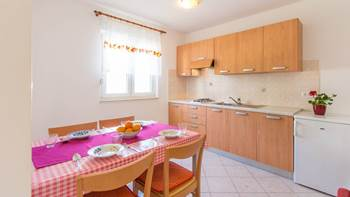 Apartment with one bedroom for 4 persons, WiFi, air conditioning, 4
