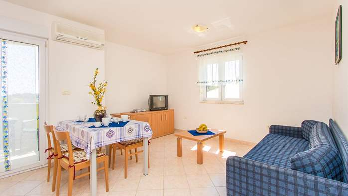 Simply furnished apartment with stunning view from the balcony, 5