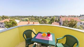 Simply furnished apartment with stunning view from the balcony, 12