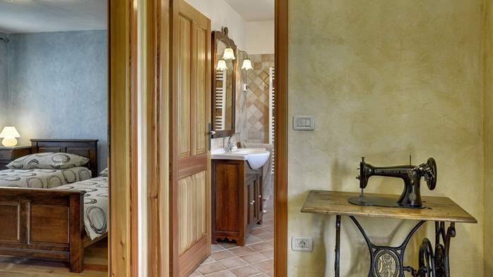 Traditional istrian stone villa with private pool and terrace, 24