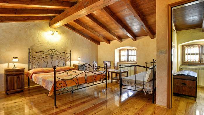 Traditional istrian stone villa with private pool and terrace, 30