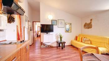 Beautifully decorated apartment with stone details, swimming pool, 6