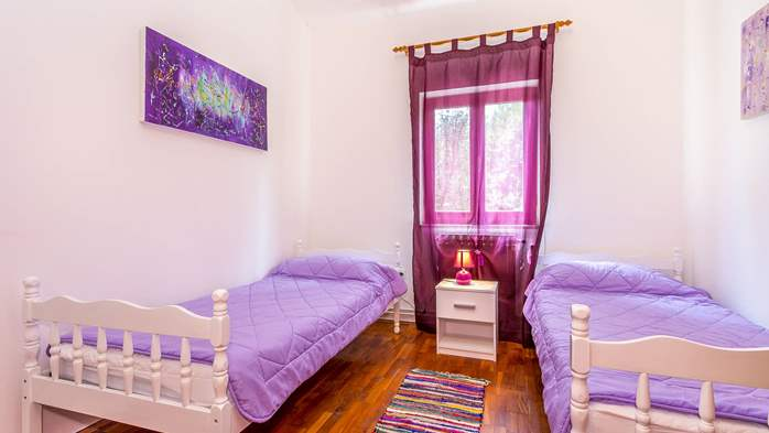 Nice and comfortable holiday home with private pool in Štinjan, 14