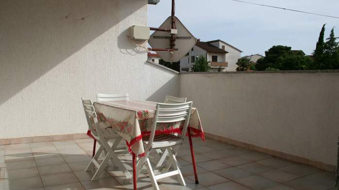 Apartment for 7 persons with two bedrooms, WiFi, SAT-TV, balcony, 10