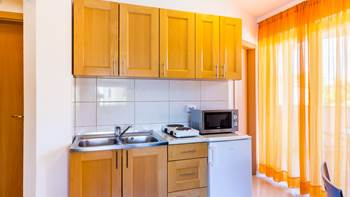 A tastefully furnished apartment for 5 persons with two bedrooms, 4