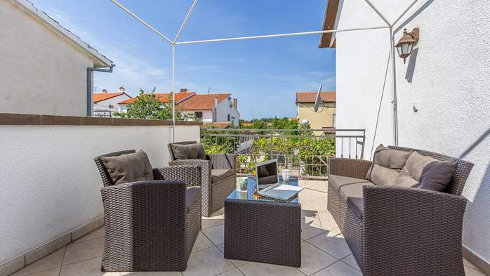 Modern apartment in Valbandon for 4 persons and 2 bedrooms, 11
