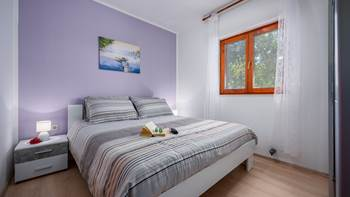 Two bedroom apartment, for 5 persons, with private terrace, WiFi, 4