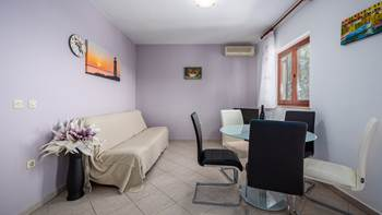 Two bedroom apartment, for 5 persons, with private terrace, WiFi, 1
