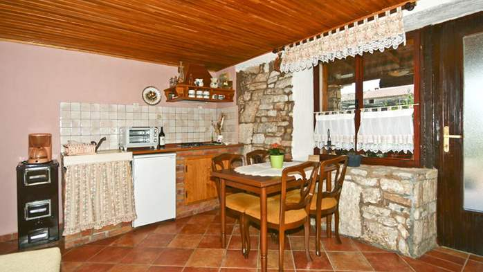 Istrian house in wood and stone on two floors for 4 persons, 31